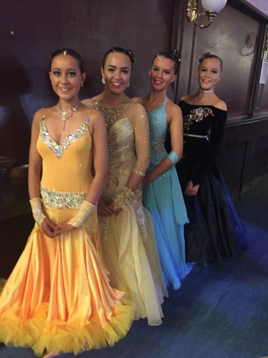 Charlotte, Rebecca, Chloe and Abi-Jo