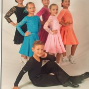 A photo of juvenile ballroom & Latin dancers